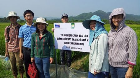 Greenhouse Gas Mitigation in Irrigated Rice Systems in Asia (MIRSA)